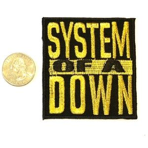 System of A Down Patch Iron On Band SOAD DIY Music